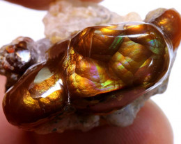 Mexican Fire Agate Stone Specimen 64cts D-22