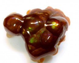 26cts Mexican Fire Agate Stone Specimen D-36