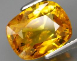 4.72 ct.   Natural Earth Mined  Yellow  Sapphire Sri Lanka