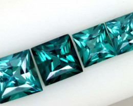 2.50CTS  GREEN TOPAZ FACETED GEMSTONE PARCEL CG-3047
