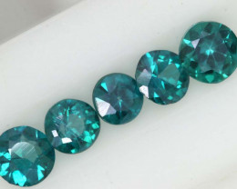 1.30CTS  GREEN TOPAZ FACETED GEMSTONE PARCEL CG-3051