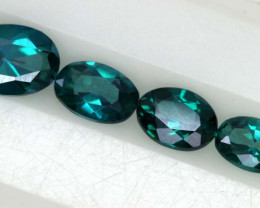 1.65CTS  GREEN TOPAZ FACETED GEMSTONE PARCEL CG-3052