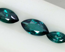 1.20CTS  GREEN TOPAZ FACETED GEMSTONE PARCEL CG-3055