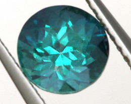 1.30CTS  GREEN TOPAZ FACETED GEMSTONE  CG-3060