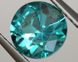 1.35CTS  GREEN TOPAZ FACETED GEMSTONE  CG-3061