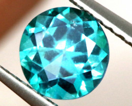 0.87 CTS  GREEN TOPAZ FACETED GEMSTONE  CG-3066
