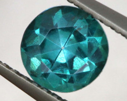 0.92 CTS  GREEN TOPAZ FACETED GEMSTONE  CG-3067