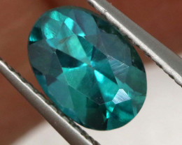 0.98 CTS  GREEN TOPAZ FACETED GEMSTONE  CG-3069