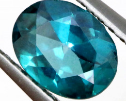 0.70 CTS  GREEN TOPAZ FACETED GEMSTONE  CG-3071