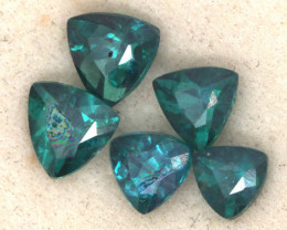2.10 CTS  GREEN TOPAZ FACETED GEMSTONE PARCEL CG-3079