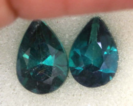 1.50 CTS  GREEN TOPAZ FACETED GEMSTONE PARCEL CG-3086