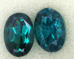 1.53 CTS  GREEN TOPAZ FACETED GEMSTONE PARCEL CG-3089