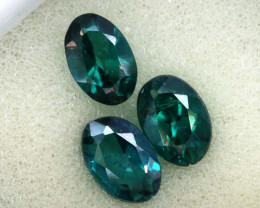 1.89 CTS  GREEN TOPAZ FACETED GEMSTONE PARCEL CG-3090
