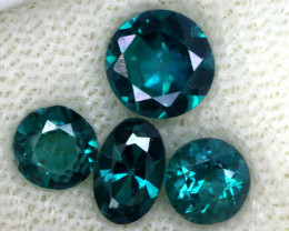 1.71 CTS  GREEN TOPAZ FACETED GEMSTONE PARCEL CG-3093