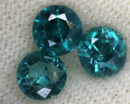 2.03 CTS  GREEN TOPAZ FACETED GEMSTONE PARCEL CG-3097
