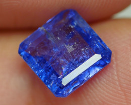 1.810 CRT WONDERFULL TANZANITE TOP COLOR GEMSTONE-