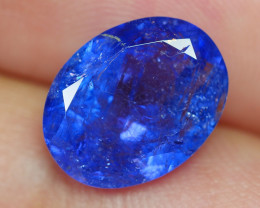 4.360 CRT WONDERFULL TANZANITE TOP COLOR GEMSTONE-