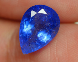 3.660 CRT WONDERFULL TANZANITE TOP COLOR GEMSTONE-