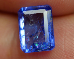 1.535 CRT WONDERFULL TANZANITE TOP COLOR GEMSTONE-