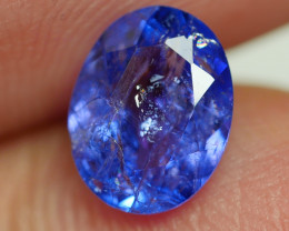 1.230 CRT WONDERFULL TANZANITE TOP COLOR GEMSTONE-