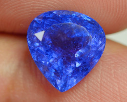 4.350 CRT WONDERFULL TANZANITE TOP COLOR GEMSTONE-