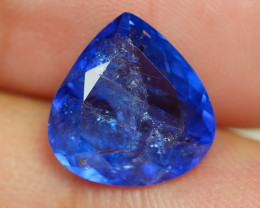 4.860 CRT WONDERFULL TANZANITE TOP COLOR GEMSTONE-