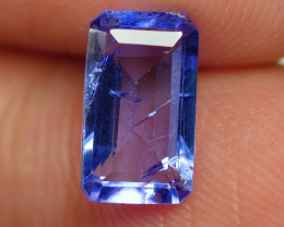 1.515 CRT WONDERFULL TANZANITE TOP COLOR GEMSTONE-