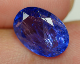 3.985 CRT WONDERFULL TANZANITE TOP COLOR GEMSTONE-