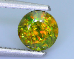 Rare AAA Fire 1.51 ct Chrome Sphene Sku-18