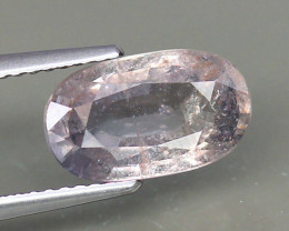 Big Untreated Natural Pink Sapphire - 3.80 ct