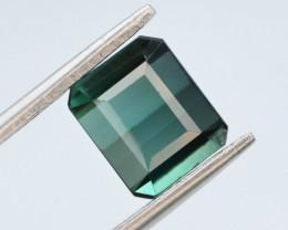 3.25 Ct Natural Dark Green Color Tourmaline