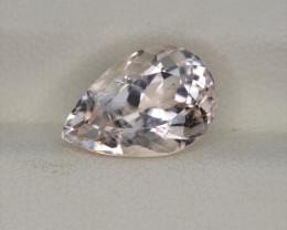 5.00 Carats Natural  Morganite Gemstone