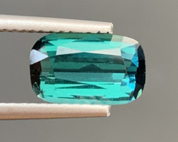 1.80  Carats Natural Indicolite Tourmaline Gemstone