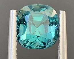 1.95 Carats Natural Indicolite Tourmaline Gemstone