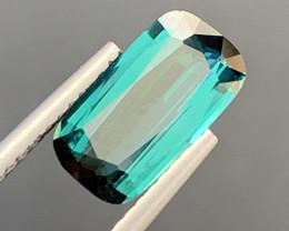 1.75 Carats Natural Indicolite Tourmaline Gemstone