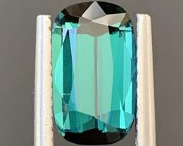 2 Carats Natural Indicolite Tourmaline Gemstone