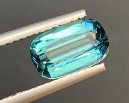 1.55 Carats Natural Indicolite  Tourmaline Gemstone