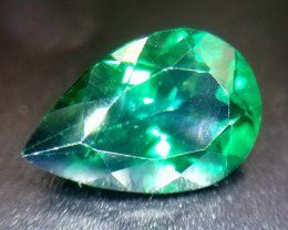 Topas, 7.05ct, very, very small inclusions, sensationelle Farbe, erhitzt.