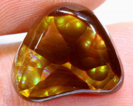 Mexican Fire Agate Stone Polished 9cts D-45