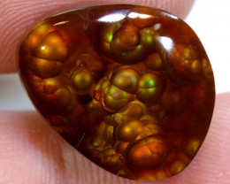Mexican Fire Agate Stone Polished 18cts D-49