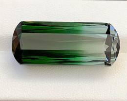 47.45 Carats Natural Bi Color Afghani Tourmaline Gemstone