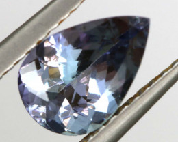 1.05 CTS TANZANITE  FACETED   CG -3102