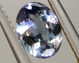 1.05 CTS TANZANITE  FACETED   CG -3106