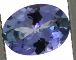 1.05 CTS TANZANITE  FACETED   CG -3108
