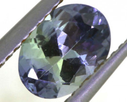 1.15 CTS TANZANITE  FACETED   CG -3109