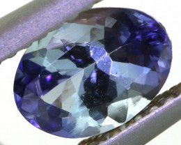 1.10 CTS TANZANITE  FACETED   CG -3112