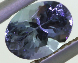 1.35 CTS TANZANITE  FACETED   CG -3116