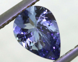 1.05 CTS TANZANITE  FACETED   CG -3120