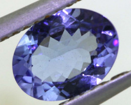 1 CTS TANZANITE  FACETED   CG -3121