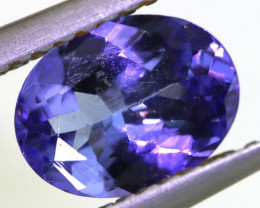 1.20 CTS TANZANITE  FACETED   CG -3122